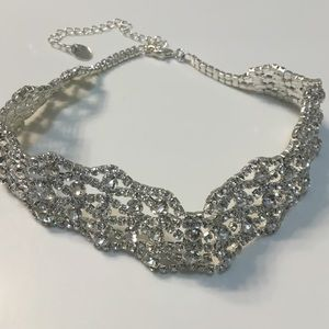 Jewelry - CZ bling fancy choker
